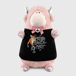 Игрушка-бычок Crush Bandicoot цвета 3D-светло-розовый — фото 1