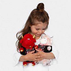 Игрушка-бычок Doctor Sleep цвета 3D-красный — фото 2