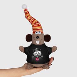 Игрушка-мышка Donut Panda цвета 3D-серый — фото 1