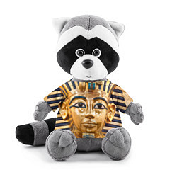 Игрушка-енот Фараон цвета 3D-серый — фото 1