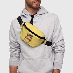 Поясная сумка Pikachu цвета 3D — фото 2