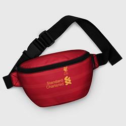 Поясная сумка Liverpool FC: Standart Chartered цвета 3D-принт — фото 2