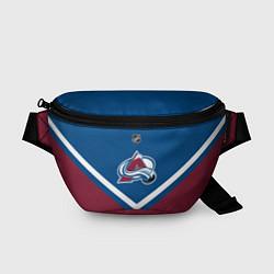 Поясная сумка NHL: Colorado Avalanche цвета 3D — фото 1