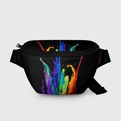 Поясная сумка Всплеск красок