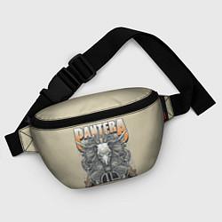 Поясная сумка Pantera: Wild Goat цвета 3D-принт — фото 2