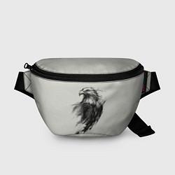Поясная сумка Дикий орел цвета 3D-принт — фото 1