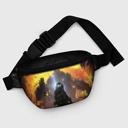 Поясная сумка Titanfall: Robots War цвета 3D — фото 2