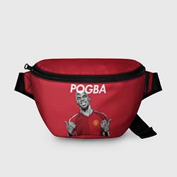 Поясная сумка FC MU: Pogba цвета 3D-принт — фото 1