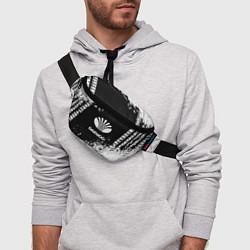 Поясная сумка Daewoo: Black Spray цвета 3D — фото 2