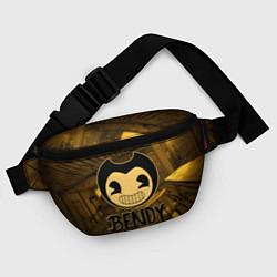 Поясная сумка Black Bendy цвета 3D — фото 2