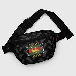 Поясная сумка GUSSI Style цвета 3D-принт — фото 2