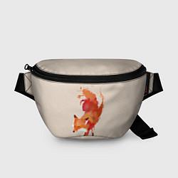 Поясная сумка Paint Fox