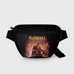 Поясная сумка Alestorm: Golden Ship цвета 3D-принт — фото 1