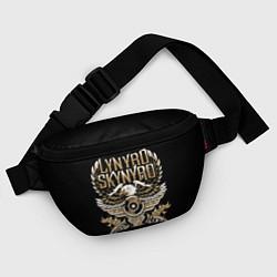 Поясная сумка Lynyrd Skynyrd цвета 3D-принт — фото 2