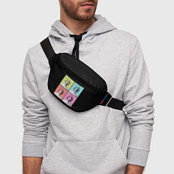 Поясная сумка Медуза Горгона Pop Art цвета 3D — фото 2