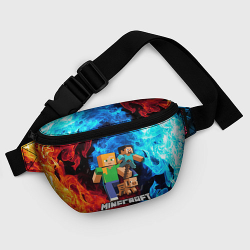 Поясная сумка Minecraft Майнкрафт / 3D-принт – фото 4