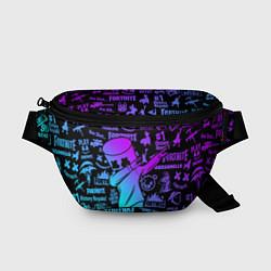 Поясная сумка FORTNITE X MARSHMELLO цвета 3D-принт — фото 1