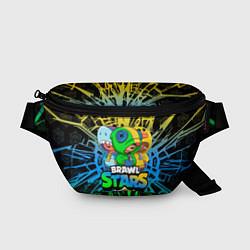 Поясная сумка BRAWL STARS LEON SKINS цвета 3D — фото 1