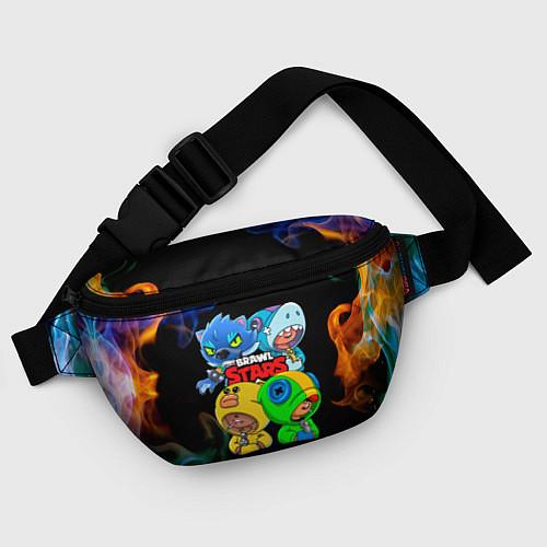 Поясная сумка Brawl Stars Leon Quattro / 3D – фото 4