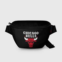 Поясная сумка CHICAGO BULLS цвета 3D-принт — фото 1