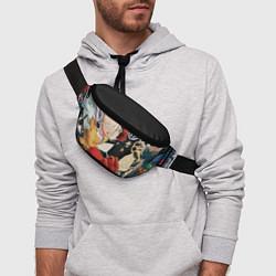 Поясная сумка One Punch Man цвета 3D — фото 2