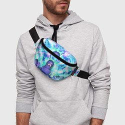 Поясная сумка МАДАРА СУСАНО цвета 3D-принт — фото 2