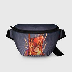 Поясная сумка The Flash цвета 3D-принт — фото 1