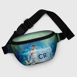 Поясная сумка CR Ronaldo цвета 3D-принт — фото 2
