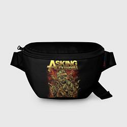 Поясная сумка Asking Alexandria цвета 3D-принт — фото 1