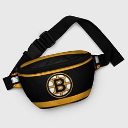 Поясная сумка Boston Bruins цвета 3D-принт — фото 2