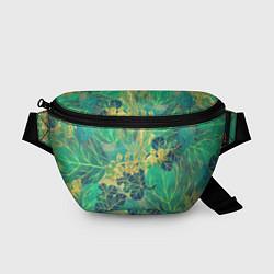Поясная сумка Узор из листьев