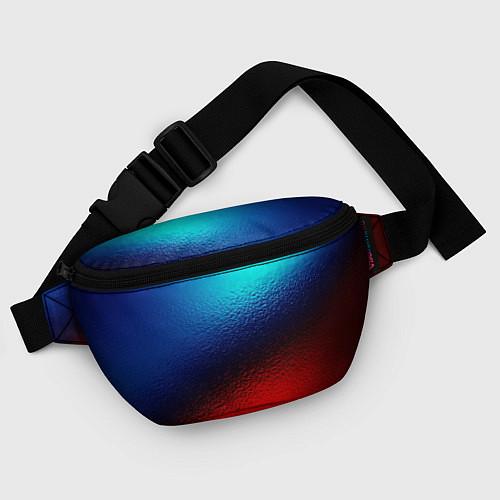 Поясная сумка Синий и красный / 3D – фото 4