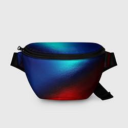 Поясная сумка Синий и красный