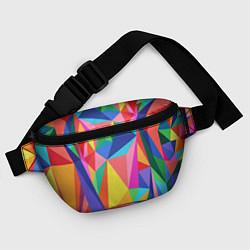 Поясная сумка Радуга цвета 3D — фото 2