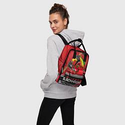 Рюкзак женский Chicago Blackhawks цвета 3D-принт — фото 2