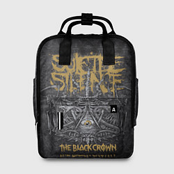 Рюкзак женский Suicide Silence: The Black Crown цвета 3D-принт — фото 1