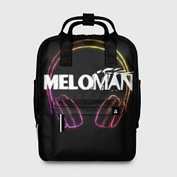 Рюкзак женский Meloman цвета 3D-принт — фото 1