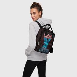 Рюкзак женский Орел группа Slipknot цвета 3D-принт — фото 2