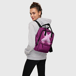 Рюкзак женский The XX: Purple цвета 3D-принт — фото 2