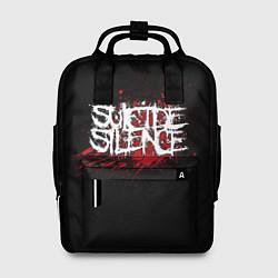Рюкзак женский Suicide Silence Blood цвета 3D-принт — фото 1