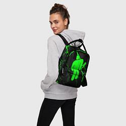 Женский городской рюкзак с принтом BILLIE EILISH, цвет: 3D, артикул: 10201693305839 — фото 2