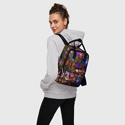 Женский городской рюкзак с принтом Five Nights At Freddy's, цвет: 3D, артикул: 10211300905839 — фото 2