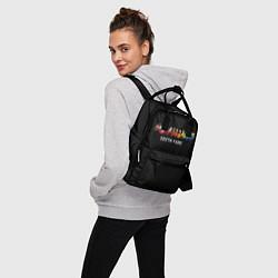 Рюкзак женский ЮЖНЫЙ ПАРК цвета 3D-принт — фото 2