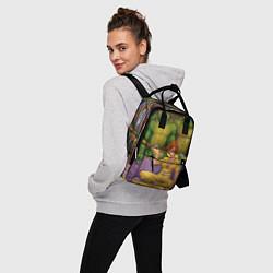 Рюкзак женский ЧЕРЕПАШКИХАБ цвета 3D — фото 2