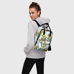Рюкзак женский Лимоны цвета 3D — фото 2