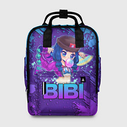 Рюкзак женский Brawl Stars BIBI цвета 3D — фото 1