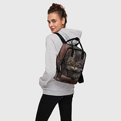 Рюкзак женский Мой внутренний зверь цвета 3D-принт — фото 2
