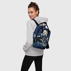 Рюкзак женский Nickelback: Chad Kroeger цвета 3D-принт — фото 2