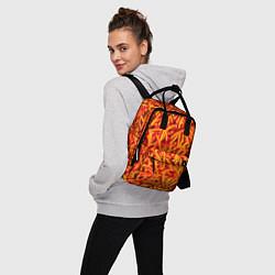 Рюкзак женский Морковь цвета 3D — фото 2