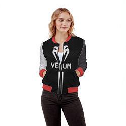 Бомбер женский Venum цвета 3D-красный — фото 2